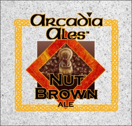 Arcadia Nut Brown Ale Beer