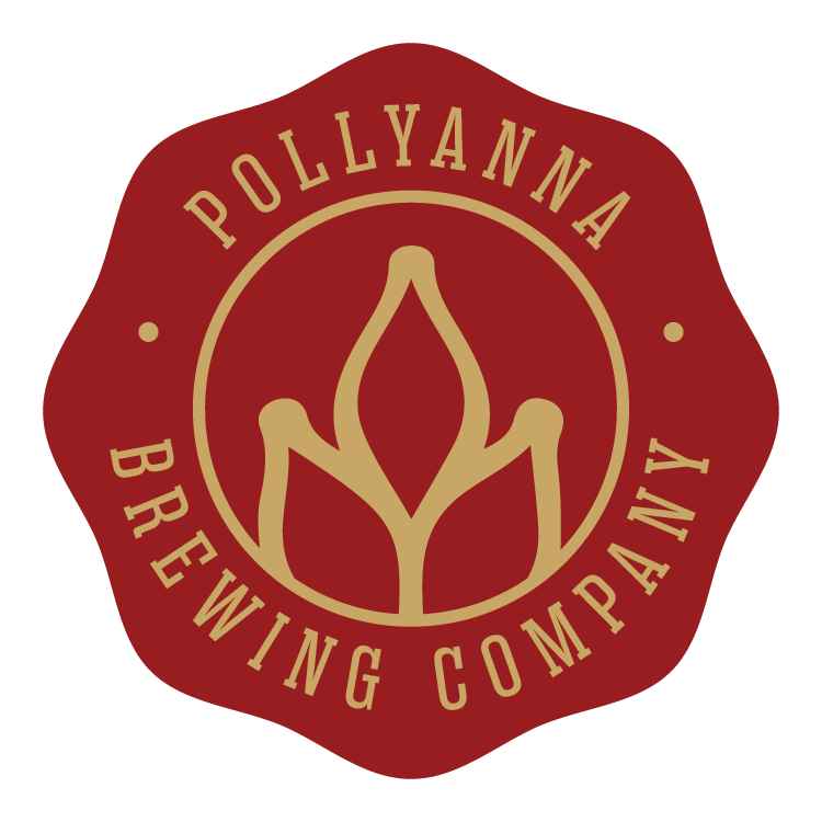 Pollyanna Dr Pangloss beer Label Full Size