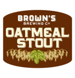Brown's Oatmeal Stout beer