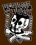 Four String Devilock Hazelnut Stout beer Label Full Size
