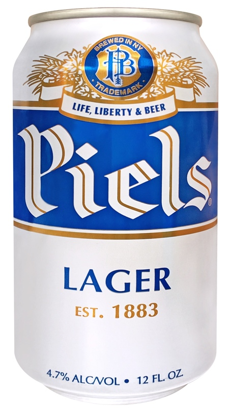 Piels Lager beer Label Full Size