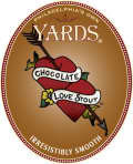 Yards Chocolate and Vanilla Love Stout beer