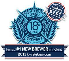 18th Street Hunter Vanilla beer Label Full Size