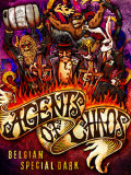 Chaos Mountain Agents Of Chaos beer Label Full Size