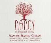 Allagash Nancy beer Label Full Size