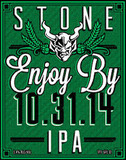 Stone Enjoy By 10.31.14 beer