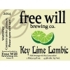 Free Will Key Lime Lambic Beer