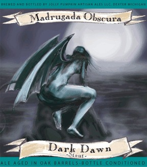 Jolly Pumpkin Madrugada Obscura Beer