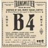 Transmitter B4 Imperial Barrel Aged Black Saison beer Label Full Size