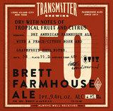 Transmitter F0 Brett Farmhouse beer