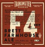 Transmitter F4 3x Brett Farmhouse beer