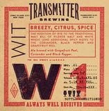 Transmitter W1 Grapefruit Wit Beer