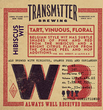 Transmitter W3 Hibiscus Orange Wit beer