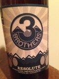 Three Brothers Resolute Beer