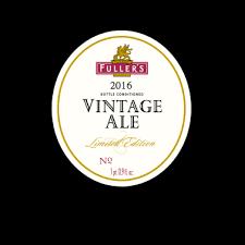 Fuller's Vintage Ale 2009 beer Label Full Size