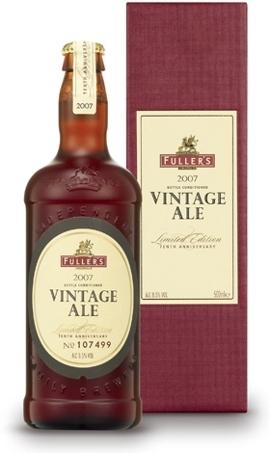 Fuller's Vintage Ale 2007 beer Label Full Size