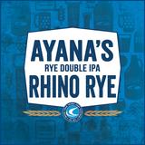 Confluence Ayana's Rhino Rye Double IPA beer