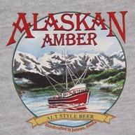 Alaskan Amber beer Label Full Size