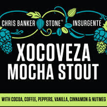 Stone Xocoveza beer Label Full Size