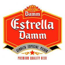 Damm Estrella Barcelona beer Label Full Size