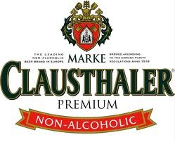 Clausthaler Amber Non-Alcoholic beer Label Full Size
