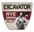 Mini big ditch excavator rye brown ale 1