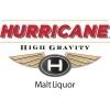 Hurricane Lager beer Label Full Size
