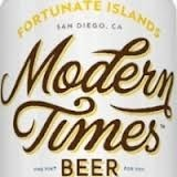 Modern Times Aurora Beer