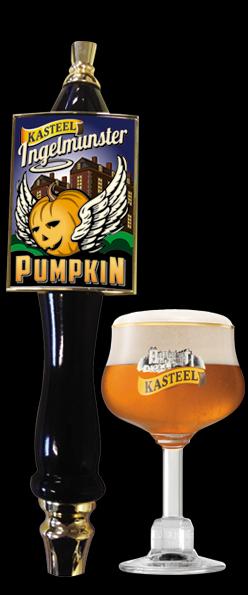Van Honsebrouck Kasteel Inglemunster Pumpkin beer Label Full Size