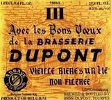 Brasserie Dupont Avec les Bons Voeux 2013 beer