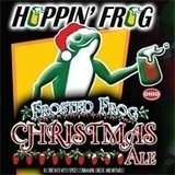 Hoppin' Frog Frosted Frog Christmas Ale 2013 beer