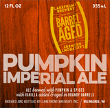 Lakefront Brandy Barrel-Aged Imperial Pumpkin Beer