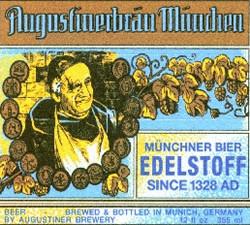 Augustiner Munchen Light Export Beer beer Label Full Size