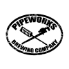 Pipeworks Over the Line beer Label Full Size