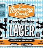 Neshaminy Creek Creekfestbier Lager Beer