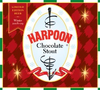 Harpoon Chocolate Stout beer Label Full Size