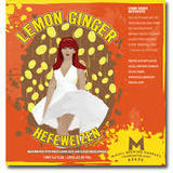 McCall Lemon Ginger Heffe beer