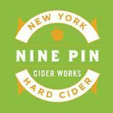 Nine Pin Blueberry Cider beer
