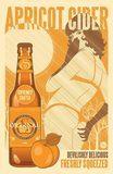 Original Sin Apricot Hard Cider beer Label Full Size