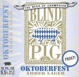 Blind Pig Brewery Oktoberfest beer