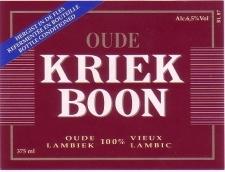 Boon Oude Kriek Beer