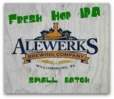 AleWerks AKA Fresh Hop IPA beer