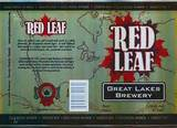 Great Lakes Red Leaf Beer