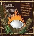 Orange Blossom Toasted Coconut Porter beer