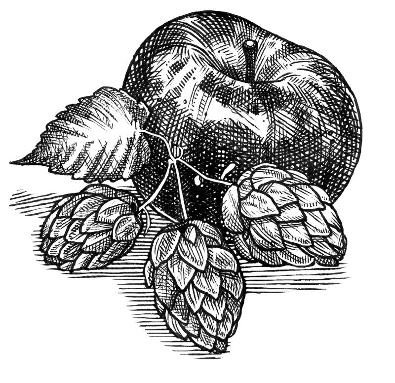 Millstone Hopvine beer Label Full Size