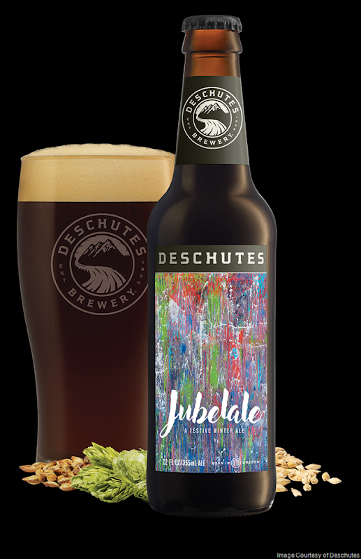 Deschutes Jubelale 2018 beer Label Full Size