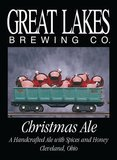 Great Lakes Christmas Ale 2014 beer Label Full Size