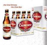 Genesee Lager beer