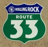 Rolling Rock 33 beer