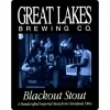 Great Lakes Blackout Stout 2013 beer Label Full Size